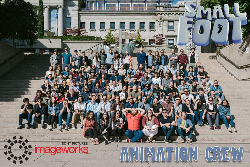 """Smallfoot"" Animation Crew Photo"